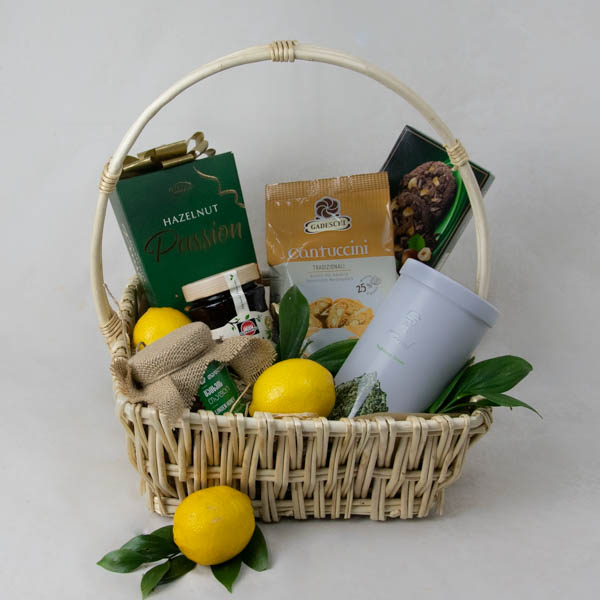 Basket with tea