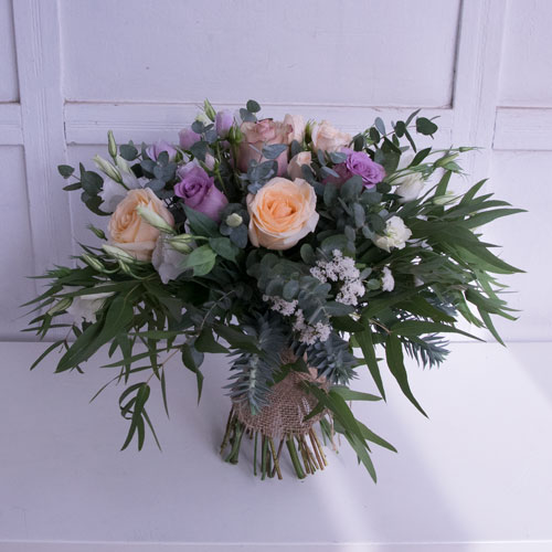 Little mix bouquet with roses